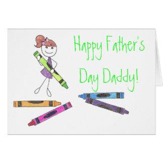 ¡Papá feliz del día de padre! Tarjeta