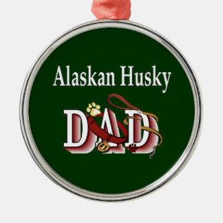 Papá fornido de Alaska Ornamentos De Reyes