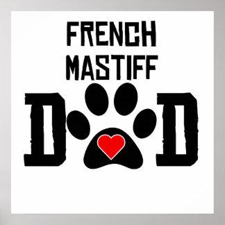Papá francés del mastín