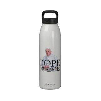 Papa Francisco Botella De Agua Reutilizable