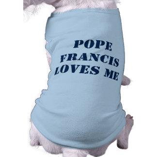 Papa Francisco Dog Shirt Playera Sin Mangas Para Perro
