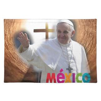 PAPA FRANCISCO MEXICO CALVARIO ORIGINALS PRODUCTS PLACEMAT