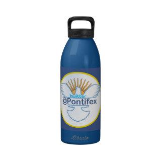 Papa Francisco Twitter Handle Reminder Botellas De Beber