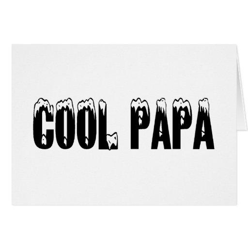 Papá fresca felicitacion