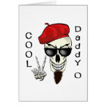 Papá fresco - cráneo del Beatnik de O Felicitaciones