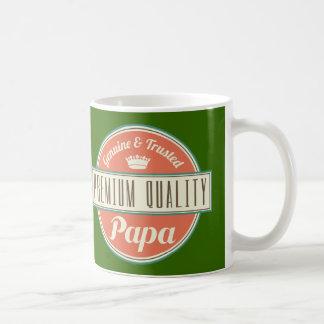 Papa (Funny) Gift Classic White Coffee Mug