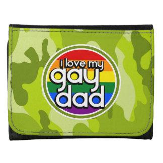 Papá gay; camo verde claro, camuflaje