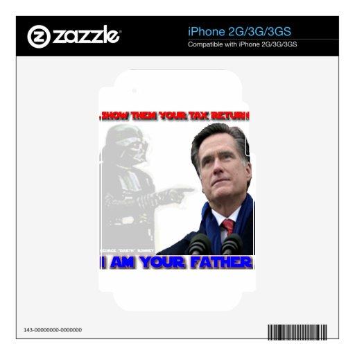 Papá George Romney iPhone 3 Skin