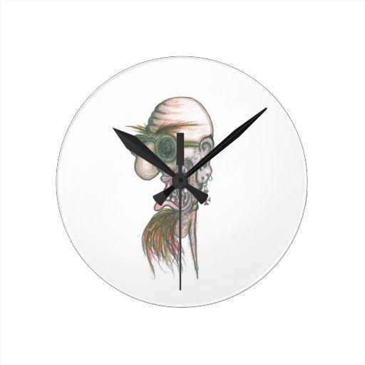 Papá grande Bonkers Reloj Redondo Mediano