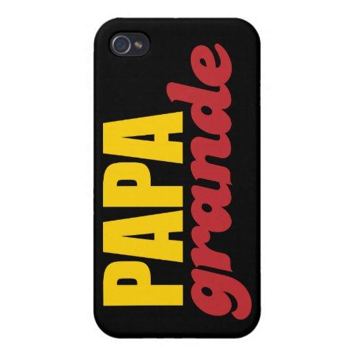 Papá grande - papá grande iPhone 4 cobertura