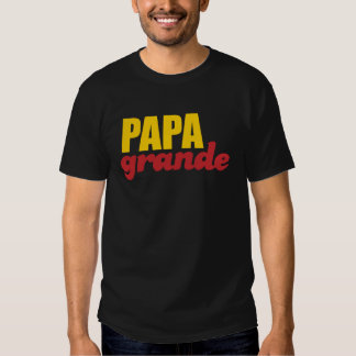 Papá grande - papá grande playera