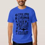 Papa grandpa you are as fast as flash Hot T-shirt