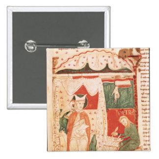 Papa Gregory I el grande Pins