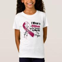 Papa Hero in My Life Head Neck Cancer T-Shirt