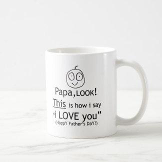 PaPa I love you! Coffee Mug