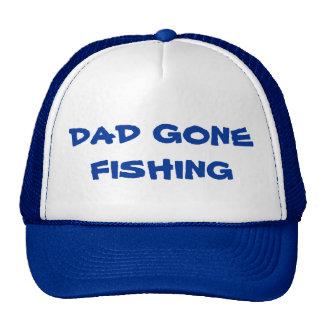 Papá ido a pescar día de padres feliz del gorra