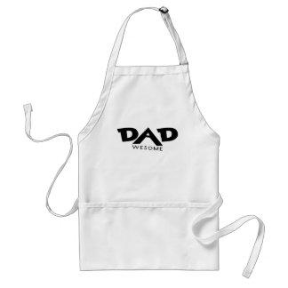 Papá impresionante delantal