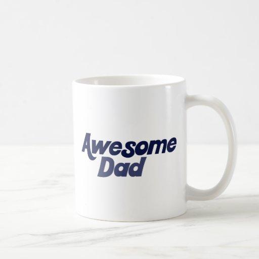 Papá impresionante taza clásica