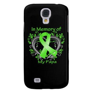 Papa  - In Memory Lymphoma Heart Galaxy S4 Cover