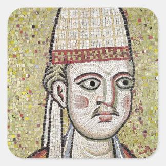 Papa Inocencio III Pegatina Cuadrada