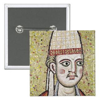 Papa Inocencio III Pin Cuadrado