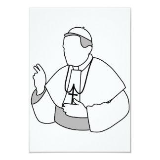 """Papa Invitations Invitación 3.5"""" X 5"""""""