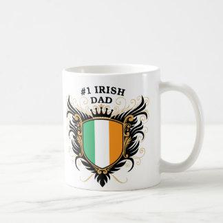Papá irlandés del número uno taza