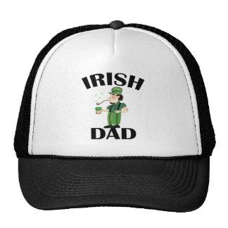 Papá irlandés gorros bordados