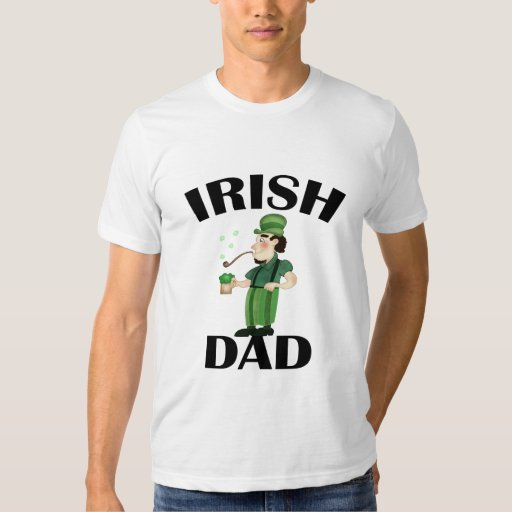 Papá irlandés remera
