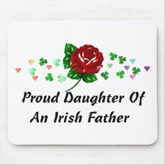 Papá irlandés tapetes de raton