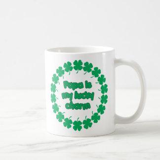 Papa is My Lucky Charm Coffee Mugs