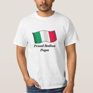 Papá italiana orgullosa remera