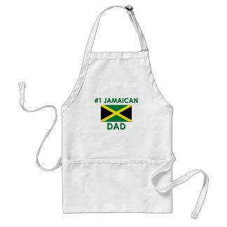 Papá jamaicano #1 delantal