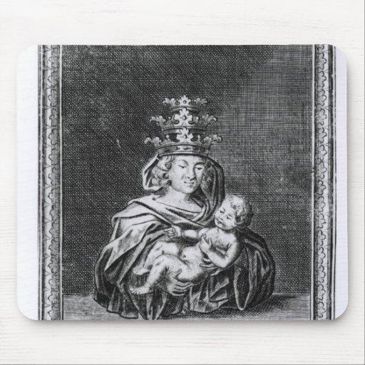 Papa Joan con su niño Alfombrillas De Ratón