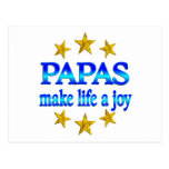 Papa Joy Postcard
