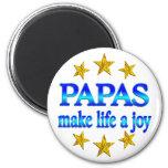 Papa Joy Refrigerator Magnet