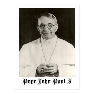 Papa Juan Pablo I Tarjetas Postales