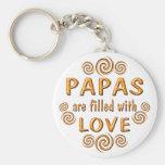 Papa Key Chain