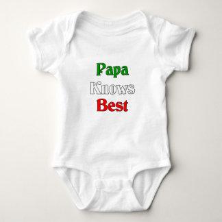 Papa Knows Best Baby Bodysuit