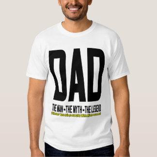 Papá la leyenda camisas