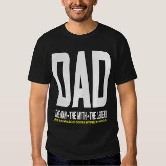 Papá la leyenda polera