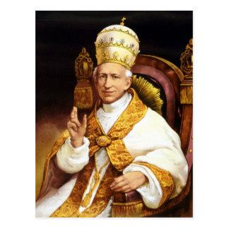 Papa León XIII Postal