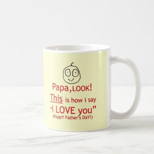 PaPa Look! Mugs