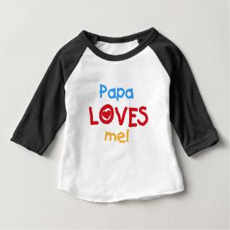 Papa Loves Me Baby T-Shirt