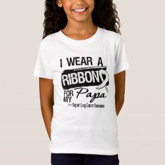 Papa Lung Cancer Ribbon T-Shirt