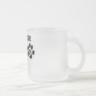 Papá maltés taza de cristal
