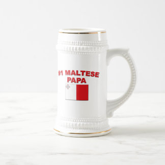 Papá maltesa #1 taza de café
