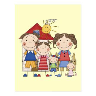 Papá, mamá, hermana grande, Brother medio, SIS del Postal