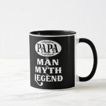PAPA Man Myth Legend Mug