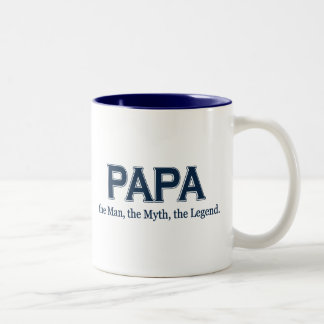 Papa Man Myth Legend mug